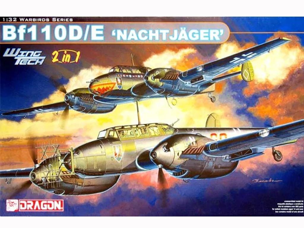 Bf 110 D/E Nachtjäger  (Vista 1)