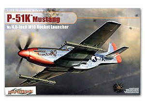 USAAC P-51K Mustang w/4.5inch M10 Launch  (Vista 1)