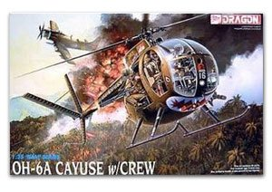 OH-6A Cayuse W/Crew