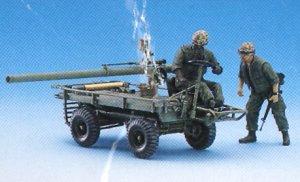 M247 Mule w/106mm R.R. & Crew  (Vista 2)