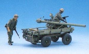 M247 Mule w/106mm R.R. & Crew  (Vista 3)