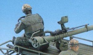 M247 Mule w/106mm R.R. & Crew  (Vista 4)