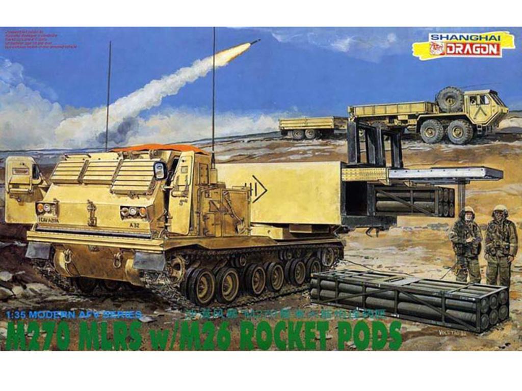 M270 MLRS /M26 Rocket  (Vista 1)