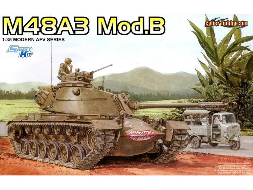 U.S. Army M48A3 Mod.B Patton  (Vista 1)