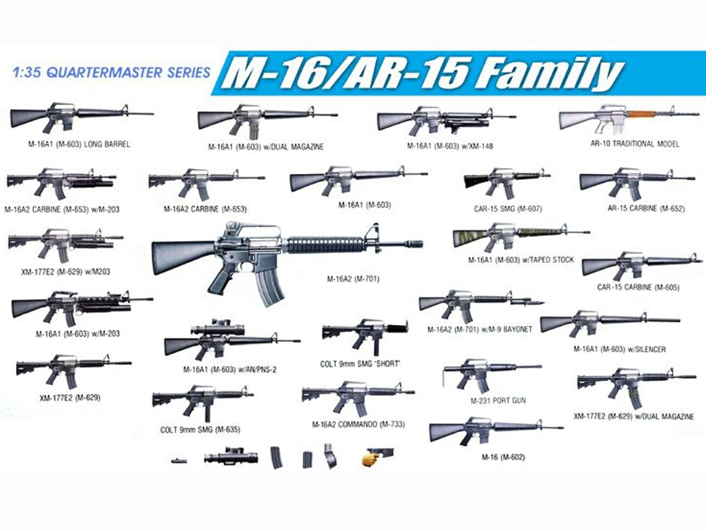 M-16/AR-15 Family  (Vista 1)