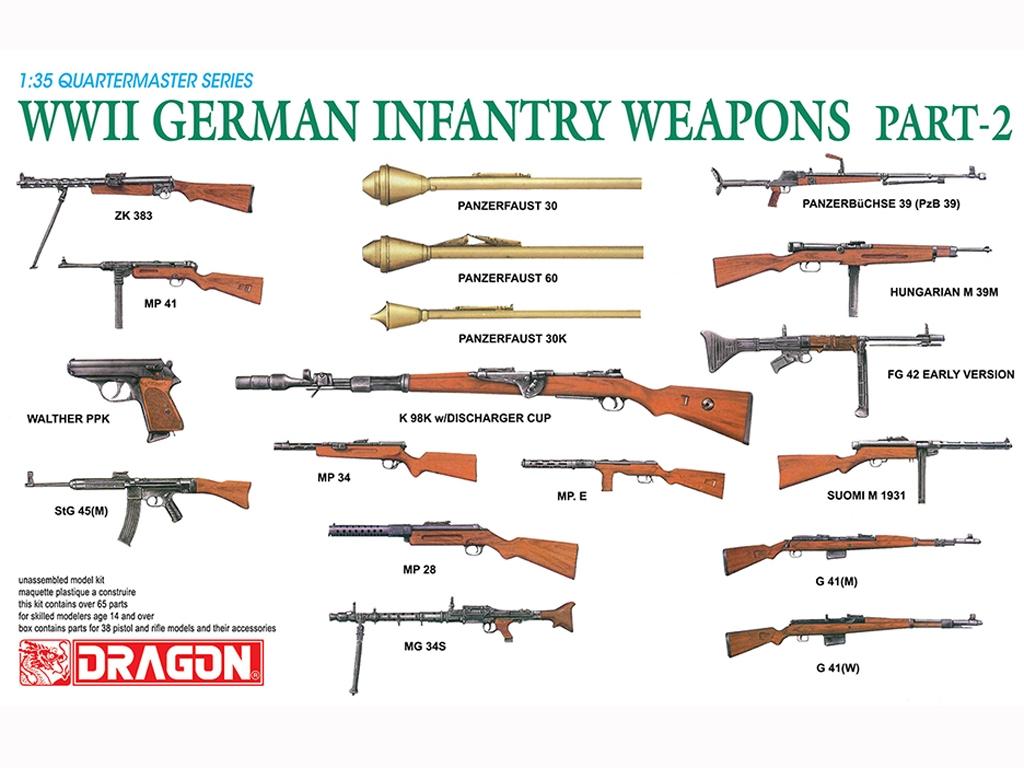 Armas Alemanas Infanteria  (Vista 1)