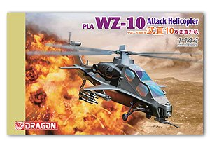 PLA WZ-10 Attack Helicopter  (Vista 1)
