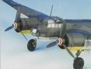 Junkers Ju.88A-4 Schnell-Bomber  (Vista 4)