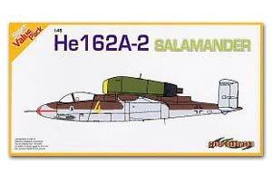 Heinkel He 162 A-2 Salamander German Jet  (Vista 1)