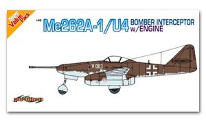 Me262A-1/U4 Bomber Interceptor w/Engine   (Vista 1)