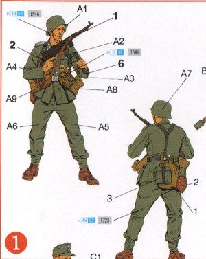Alemanes Frente del Este 1944  (Vista 2)