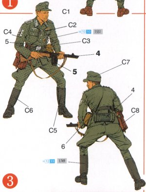 Alemanes Frente del Este 1944  (Vista 4)