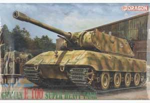 German E-100 Super Heavy Tank - Ref.: DRAG-6011