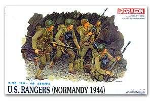 Rangers USA en Normandía 1944  (Vista 1)