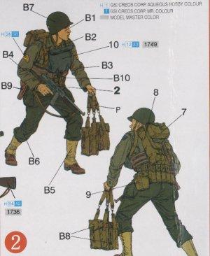 Rangers USA en Normandía 1944  (Vista 3)