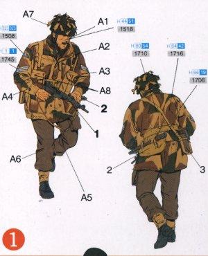 Paracaidistas Británicos Red devils  Ar  (Vista 2)