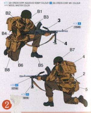 Paracaidistas Británicos Red devils  Ar  (Vista 3)