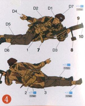 Paracaidistas Británicos Red devils  Ar  (Vista 5)