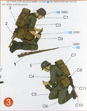 Zapadores Alemanes Kursk 1943   (Vista 3)