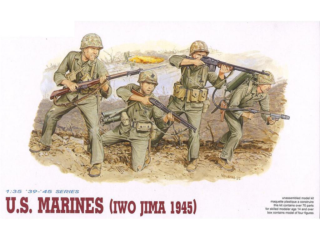 US Marines Iwo Jima 1945  (Vista 1)