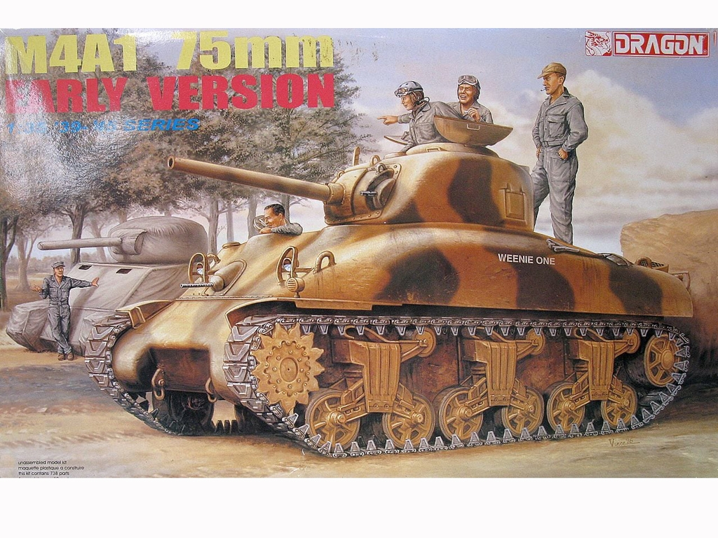 M4A1 75mm early version  (Vista 1)