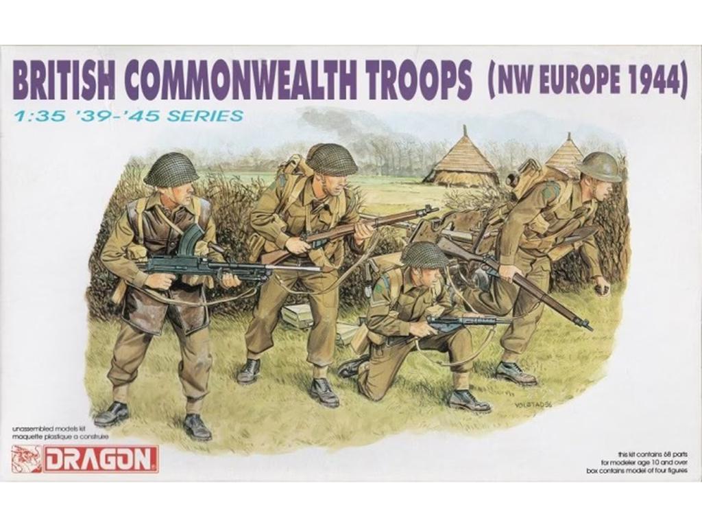 Infantería Británica 1944  (Vista 1)