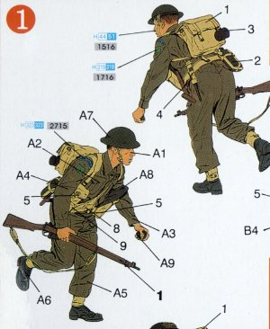 Infantería Británica 1944  (Vista 2)
