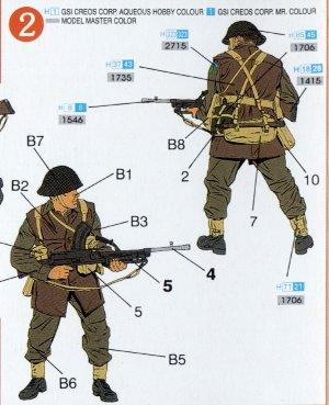 Infantería Británica 1944  (Vista 3)
