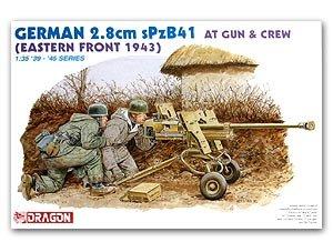 Cañon Aleman de 2.8cm sPzB41  (Vista 1)