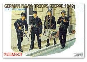 German Troops Dieppe 1942  (Vista 1)