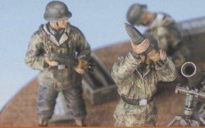 German 12cm Grenatwerfer 42 w/ Crew  (Vista 4)