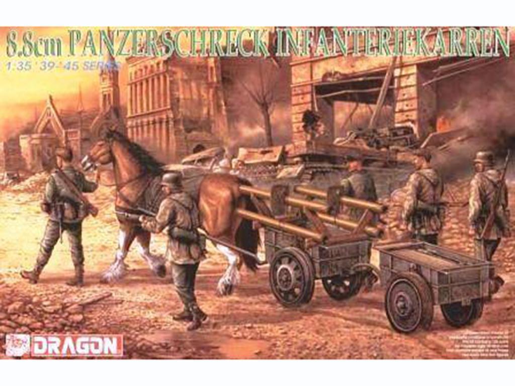8.8cm Panzerschreck w/Infantry  (Vista 1)