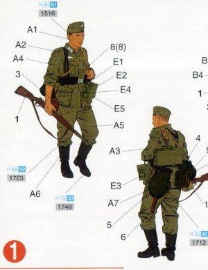 Infantería Wehrmacht Barbarossa 1941   (Vista 2)