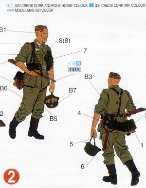 Infantería Wehrmacht Barbarossa 1941   (Vista 3)