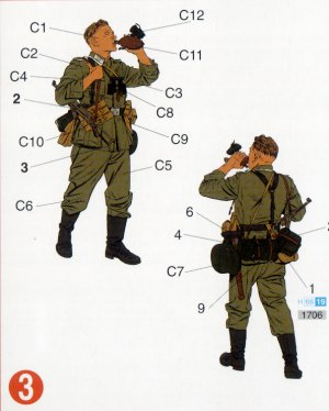 Infantería Wehrmacht Barbarossa 1941   (Vista 4)