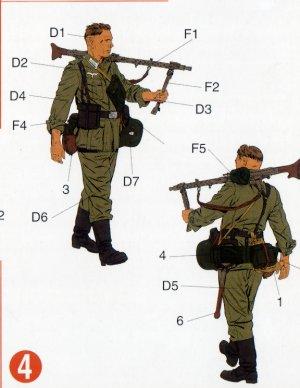 Infantería Wehrmacht Barbarossa 1941   (Vista 5)