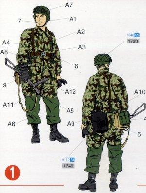 Paracaidistas Alemanes 3º Division  (Vista 3)