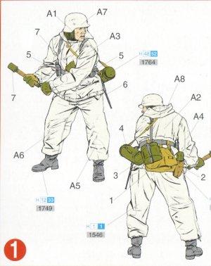 Infantería Alemana invierno  (Vista 2)