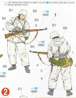 Infantería Alemana invierno  (Vista 3)
