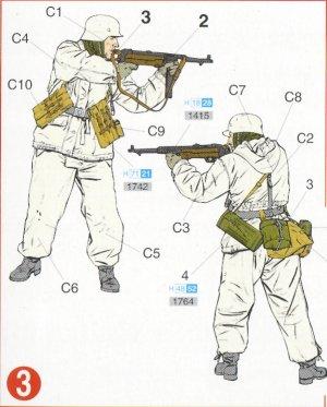 Infantería Alemana invierno  (Vista 4)