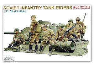 Infanteria Sovietica sobre tanque  (Vista 1)