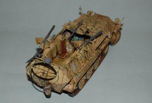 Flammpanzerwagen  Sd. Kfz. 251/16  Ausf.  (Vista 3)