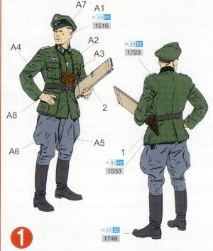 Grupo de mando Alemán  (Vista 2)