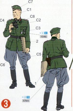 Grupo de mando Alemán  (Vista 4)