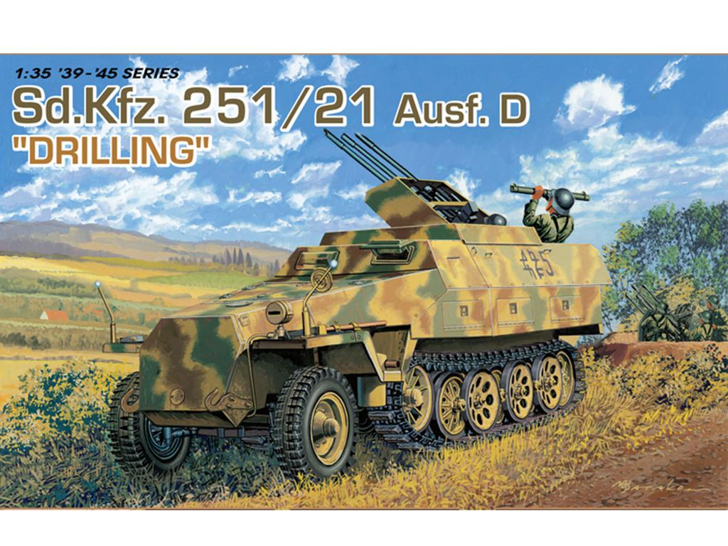 Sd.Kfz. 251/21 Ausf. D - Drilling MG 151  (Vista 1)