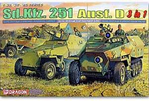 Sd.Kfz. 251 Half track - Ref.: DRAG-6233