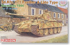 SD.KFZ. 171 Panther A Late Type - Ref.: DRAG-6244