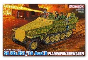 Sd.Kfz. 251/16 Ausf. D Lanzallamas  (Vista 1)