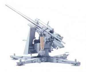 Cañon 88mm Flak 36 y sirvientes  (Vista 3)