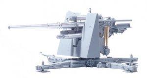Cañon 88mm Flak 36 y sirvientes  (Vista 4)
